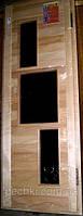 Двери для бани «Хай-тек», фото 1