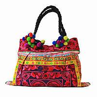 Женская сумка вышитая в стиле Бохо