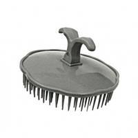 Массажная щетка для шампунирования TICO Professional серая (600202), фото 1