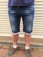 Мужские джинсовые шорты стрейч 28-34 молодежка