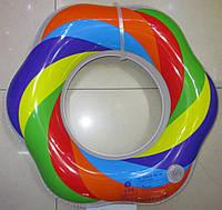 Круг для купания надувной DL0119  Цветок 80 см