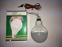 LED ЛЕД светодиодная лампа 12Вт 12W 12V 12В 6500К