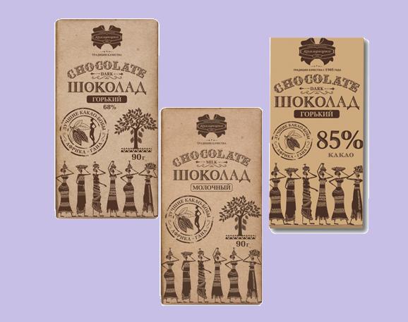 Шоколад Коммунарка КРАФТ 90г