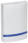 JA-1X1A-C-WH-B Пластиковая крышка для JA-111A, JA-151A - белая, голубой светомаяк