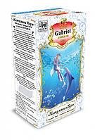 Черный чай Gabriel в картонной пачке «Жемчужина моря» - Бергамот 100 гр.