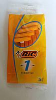 Набор одноразовых бритвенных станков Bic1 Sensitive в упаковке 5 шт Оригинал