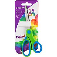 Ножиці дитячі з гумовими вставками 15см Kite K17-126