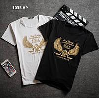Мужская футболка с принтом  1035 НР