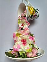 Чашка парящая  Нежная декорированная, фото 1