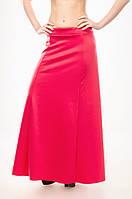 Женская юбка в пол (макси) из французского трикотажа