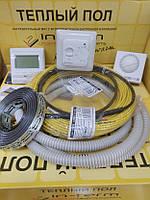 Тепла підлога 4 м.кв Fenix In-term (Чехія) тонкий нагрівальний кабель двужильний 32м
