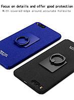 Пластиковый чехол Imak с кольцом-подставкой для Xiaomi Mi6  (2 цвета)