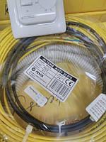Теплый пол электрический 5м.кв FENIX IN-Term (Чехия) тонкий нагревательный кабель двухжильный 44м