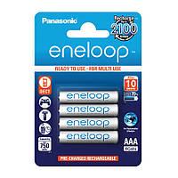 Аккумуляторы Panasonic Eneloop AAA (R03) 800mAh NiMh 4шт (BK-4MCCE/4BE),1.2V