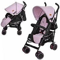 Коляска детская прогулочная KING M 3427-8 розовая***