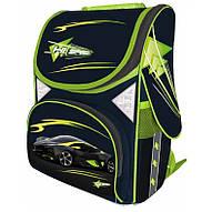 Рюкзак школьный каркасный (ранец) для мальчика Class HiSpeed 9713 Чехия, фото 1