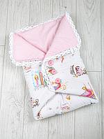"""Конверт-одеяло на выписку Лето """"Сказка"""""""