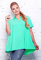 Бирюзовая женская блуза Клио ТМ Таtiana 56  размер
