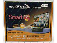 T2 ресивер Open Fox T2 mini SMART+ антена!