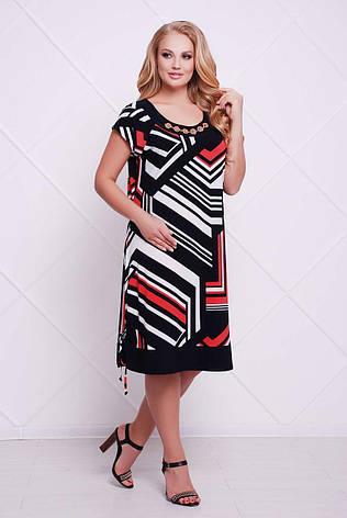 1ef4da5e1dc Платье из масла больших размеров Лора темно-синее  560 грн. Купить в ...
