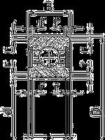 Подшипник качения шариковый радиальный однорядный2180120 Подшипник (СТ)