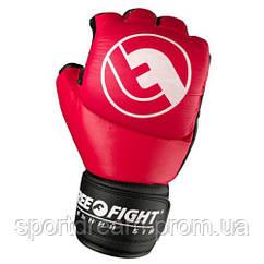 Перчатки для ММА Free-Fight 5 унций красные FF-FG-5-r
