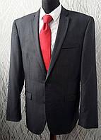 Мужской костюм NEXT серо-синий свадебный выпускной Размер М-Л