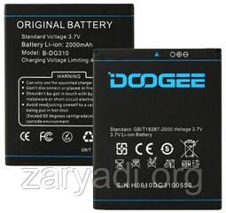 Аккумулятор DOOGEE DG310, Voyager2, 2000 mAh, Original/АКБ/Батарея/Батарейка/Дуги/Дуджи