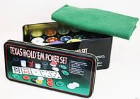 Покерный набор на 200 фишек  Техасский холдем
