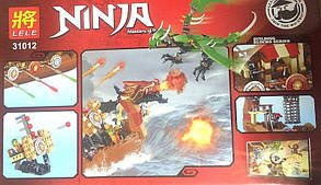 Конструктор Lele 31012  NINJA / Ниндзя Корабль пиратов (аналог Lego Ninjago), фото 2