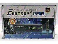 Новинка!Т2 тюнер Eurosky ES-15 HD Internet+Антена!