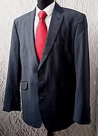 Мужской деловой синий костюм Autograph в Marks & Spencer шерсть