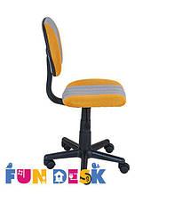 Детское компьютерное кресло FunDesk LST4 Yellow-Grey, фото 3