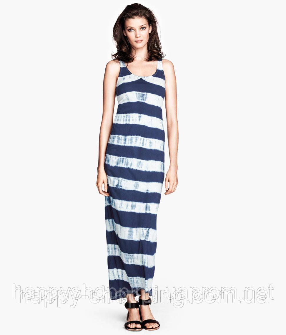 Макси платье в полоску H&M