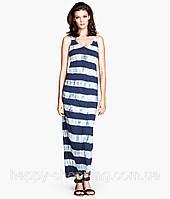 Макси платье в полоску H&M, фото 1