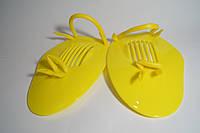Лопатки для плавания детские,пластик(цвета в ассортименте)