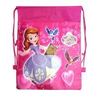 Детская сумка-рюкзак для сменной обуви София прекрасная