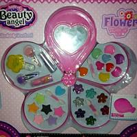 Детская косметика цветок на меловой основе
