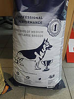 Сухой корм для собак средних и больших пород Клуб 4 лапы 15 кг