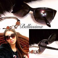 Женские стильные солнцезащитные очки e-716005