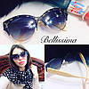 Женские солнцезащитные очки с декорированной оправой  j-716041