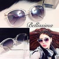 Женские стильные солнцезащитные очки с необычной оправой m-716050