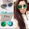 Стильные женские очки от солнца в красивой оправе p-716059