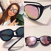 Женские стильные солнцезащитные очки  t-716079
