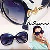 Красивые женские солнцезащитные очки с декорированной оправой q-716099