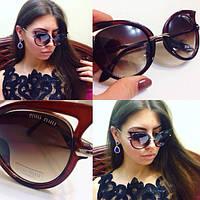 Женские солнцезащитные очки с необычной оправой o-716107