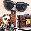 Женские стильные солнцезащитные очки с необычной оправой p-716108