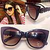 Женские стильные солнцезащитные очки с необычной оправой f-716112