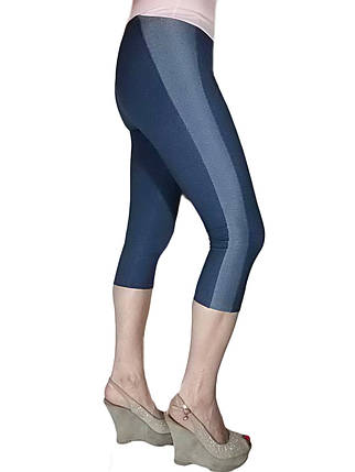 Женские капри №311 под джинс с лампасом, фото 2