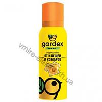 Аэрозоль от клещей и комаров на одежду с 2-х лет Gardex Baby 100 мл